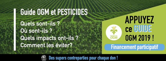 financement Guide OGM et pesticides
