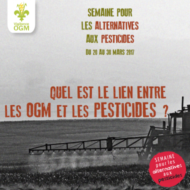 Le but de la Semaine pour les alternatives aux pesticides est d'informer sur les dangers sanitaires et environnementaux des pesticides et de faire la promotion de leurs alternatives. Voici quelques interrogations pour faire le point sur la question des pesticides !
